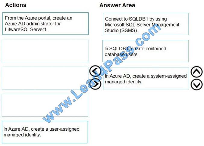 lead4pass az-500 exam question q8-1