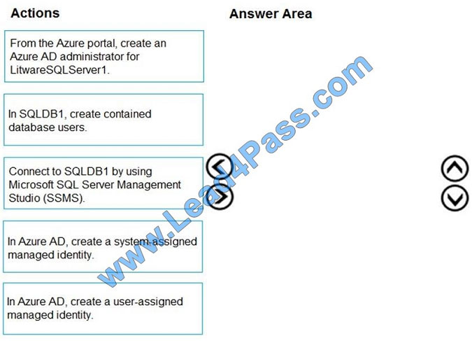 lead4pass az-500 exam question q8