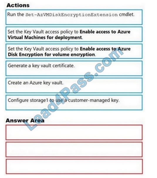 Microsoft az-500 certification questions q1-2021