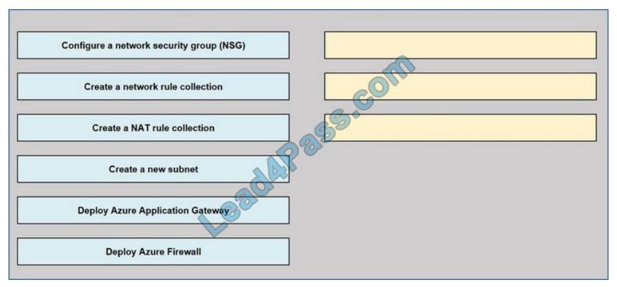 Microsoft az-500 certification questions q5-2021