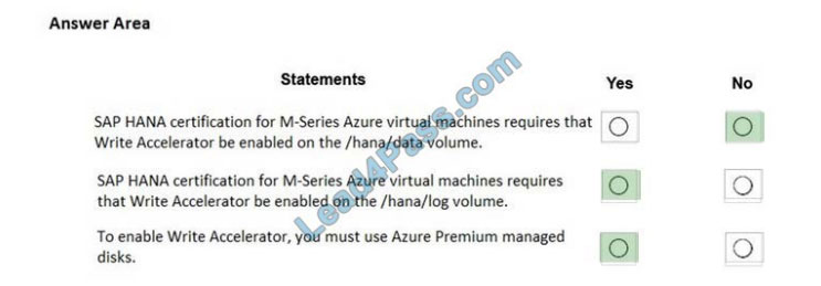 microsoft az-120 certification questions q3-1