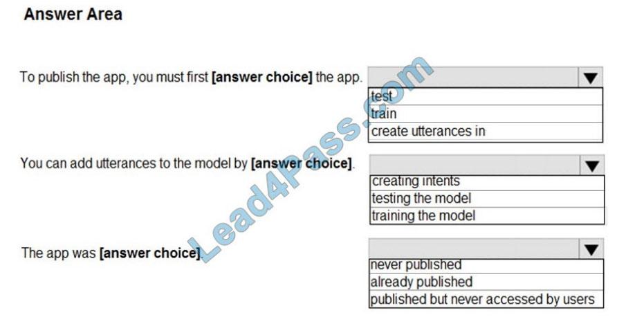 microsoft ai-100 certification exam q4-1